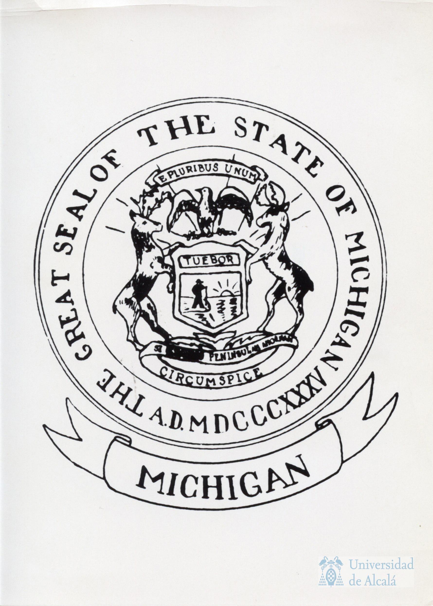 Escudo del estado de Michigan