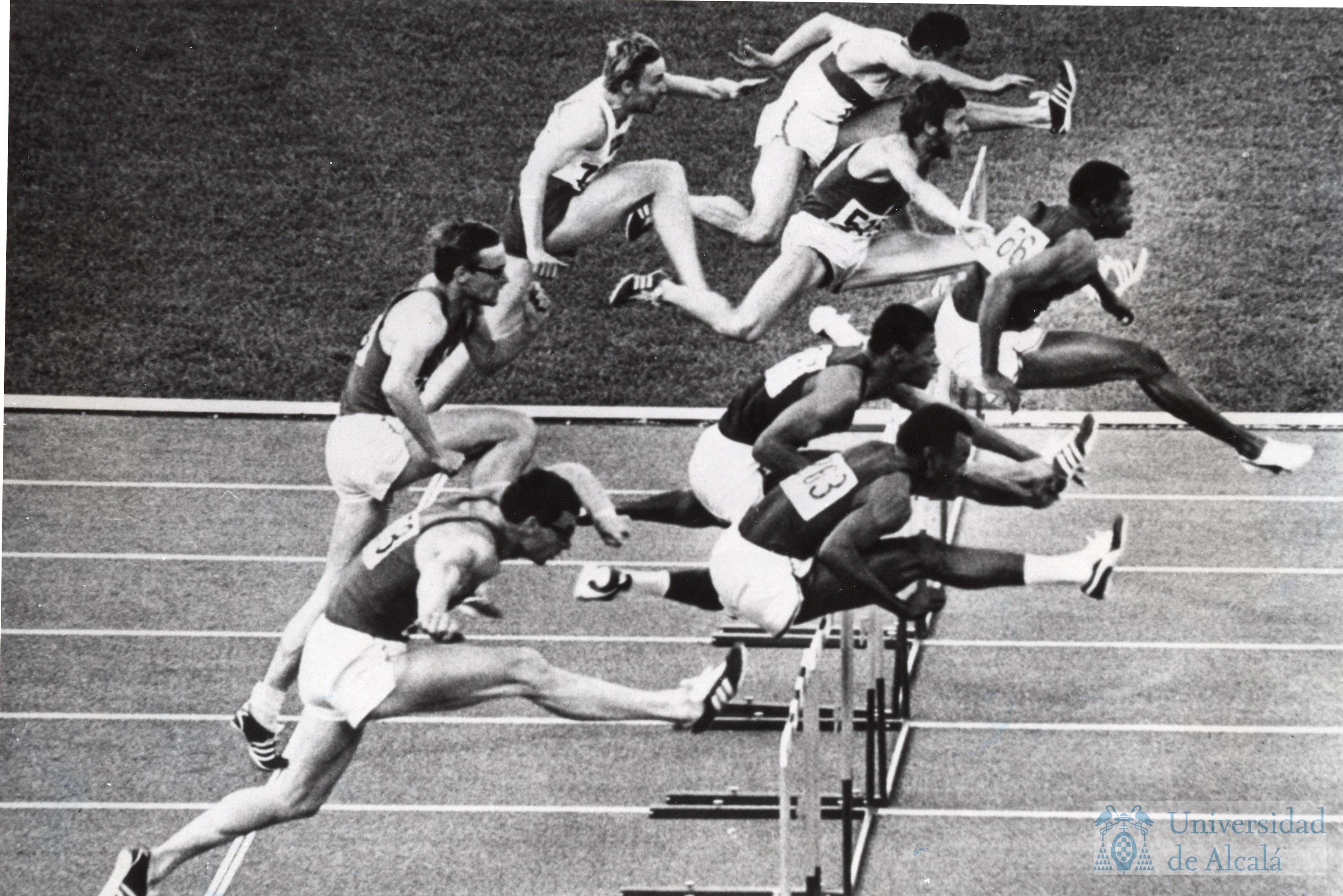 Competiciones De Salto De Vallas Durante Los Juegos Olimpicos De